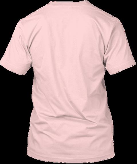 Marijuana Breast Cancer Support Light Pink T-Shirt Back