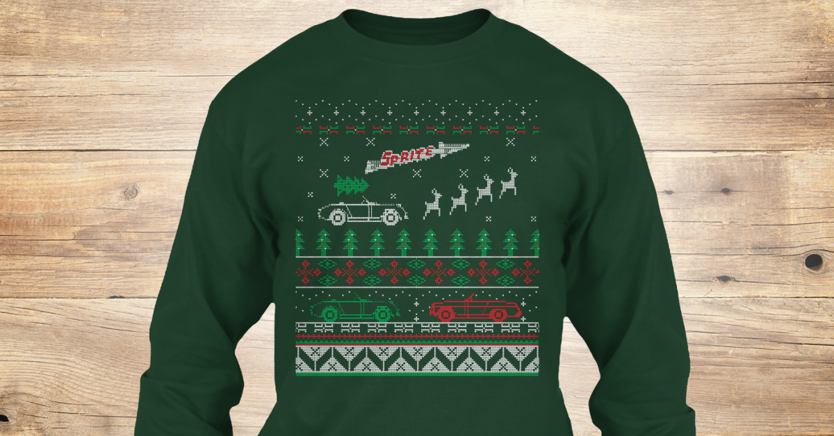 Sprite Ugly Xmas Sweater Style Printed T - sprite Products from ...