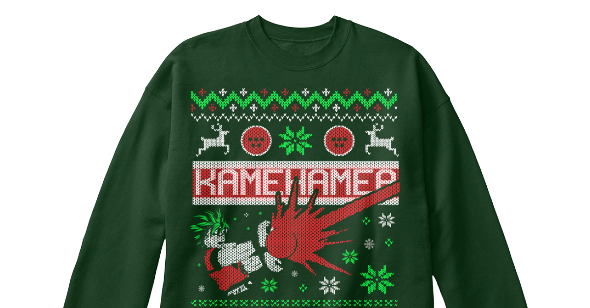 Limited Edition] Goku Christmas Sweater - kamehamea Products ...