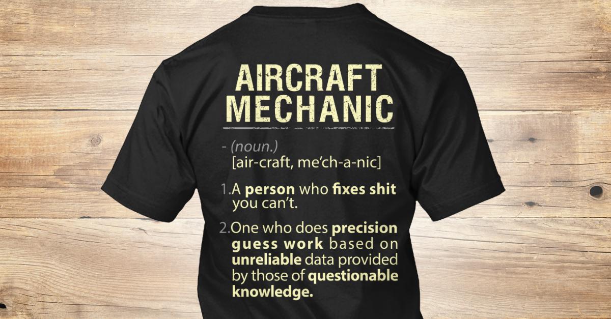 Aircraft Mechanic cheap me to you