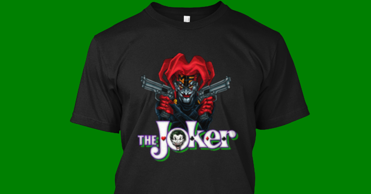 awesome t shirts the joker t shirt from awesome t shirts. Black Bedroom Furniture Sets. Home Design Ideas