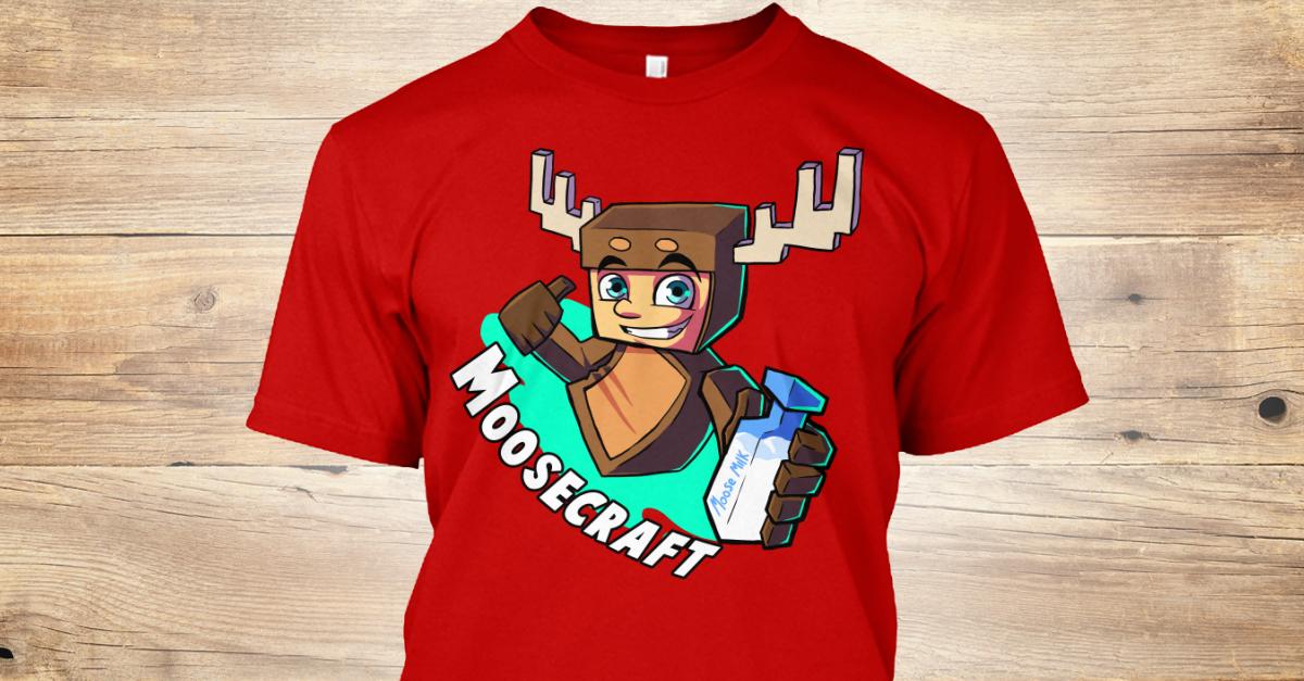 Moosemilk  moosecraft T Shirt from MooseCraft Teespring - Hairstyle Names