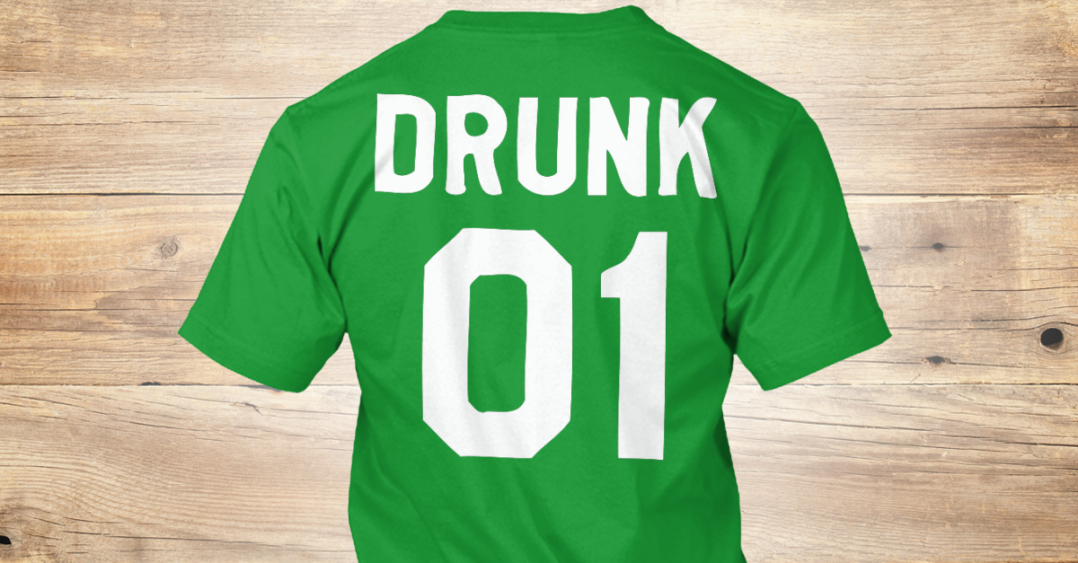 17b094770 St Patricks Day Drunk 01 Couple Products from Akufa Store   Teespring
