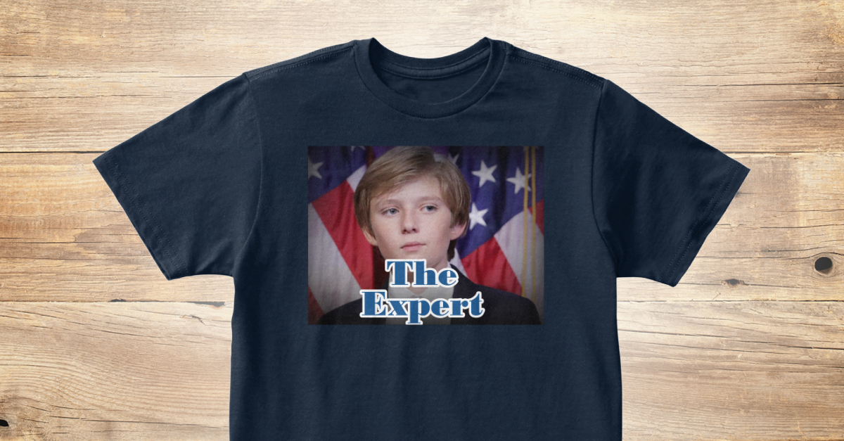Barron Trump T Products From Trump T Shirts Teespring