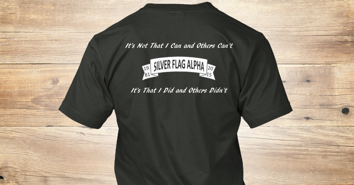 Silver Flag Alpha Deactivation Products Teespring