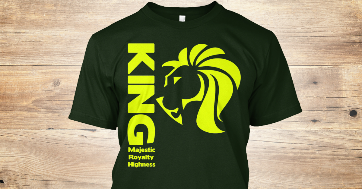 f48a4562a8949 Lion - KING Majestic Royalty Highness Flava Wear Products from Flava Wear  NC