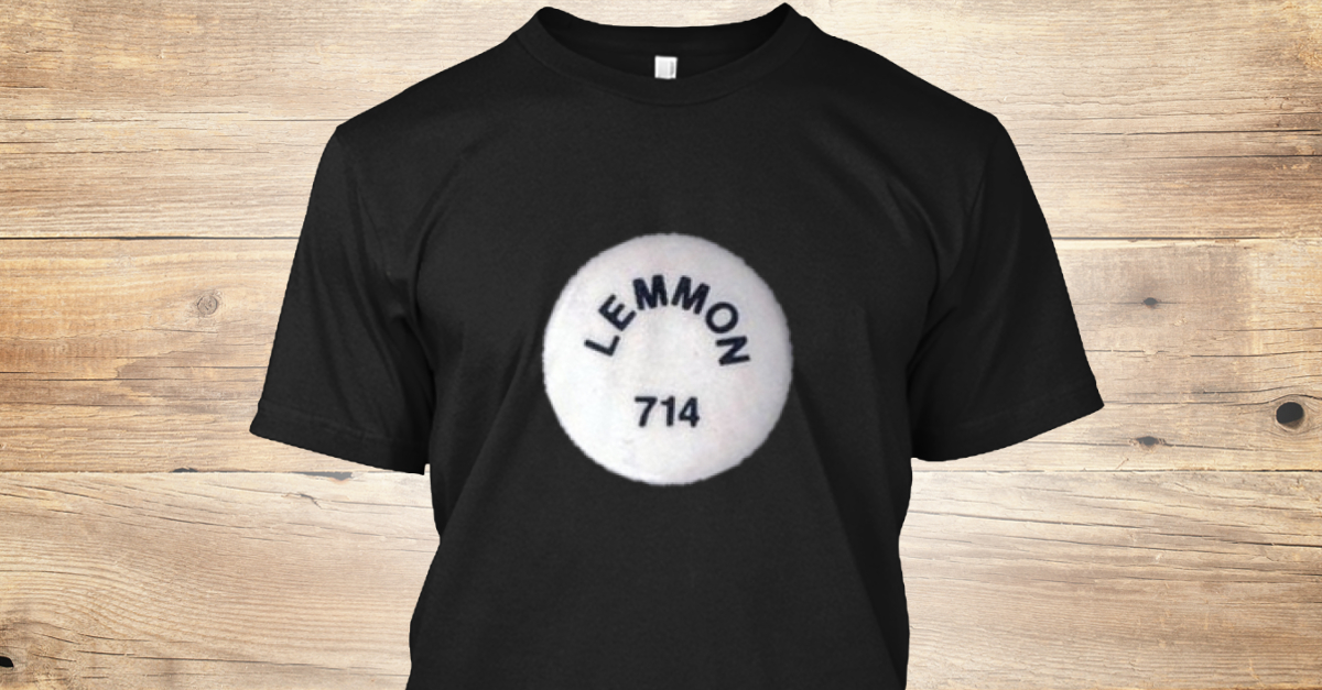 Lemmon 714 T Shirt Limited Edition...