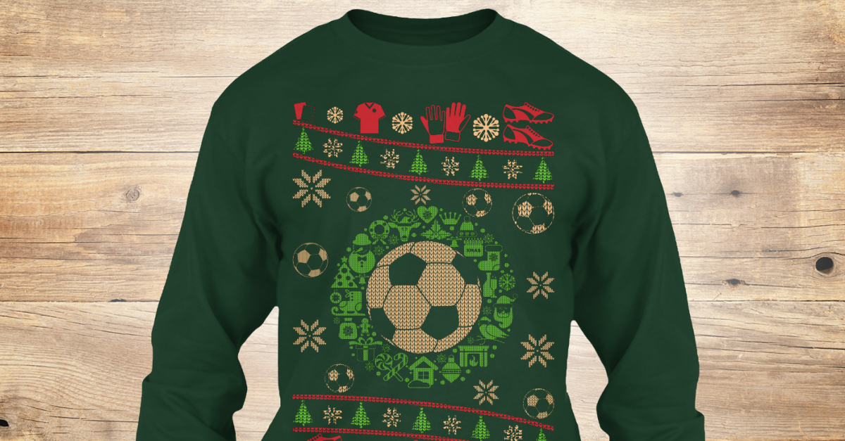 Soccer Ugly Sweater
