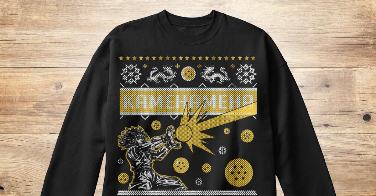 Kame Ugly Christmas Sweater - kamehameha Products   Teespring