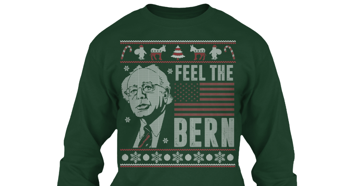 Feel The Bern Christmas Sweater Products | Teespring