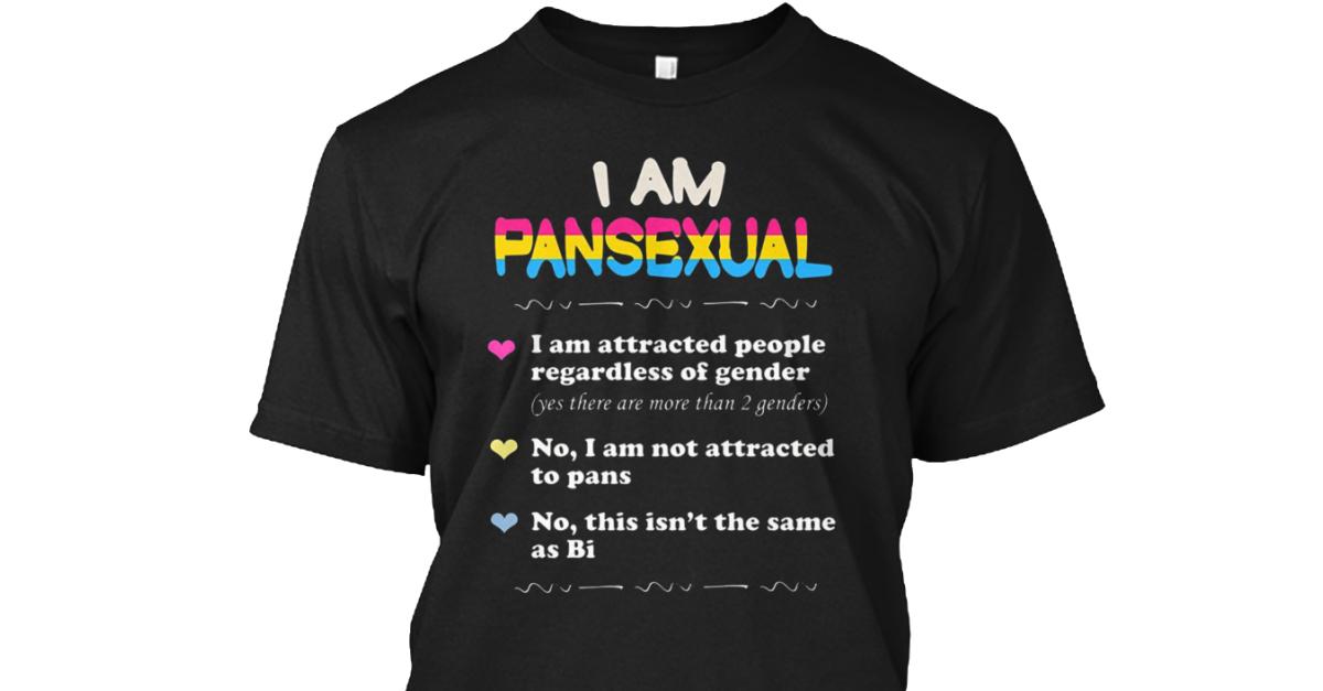Pansexual t shirt