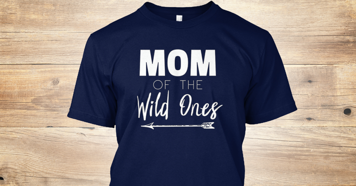 a89e90a6 Womens Mom Of The Wild Ones Mother Coupl Products from Mom of The Wild One  Shirt | Teespring