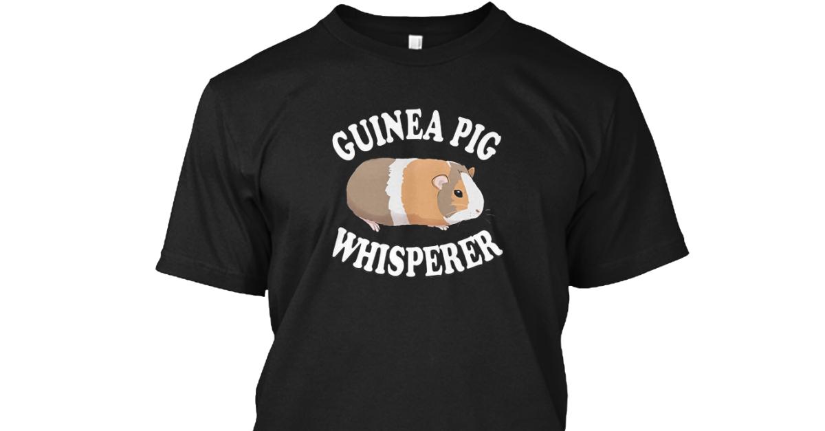 Guinea Pig Lovin Hanes Tagless Tee T-Shirt