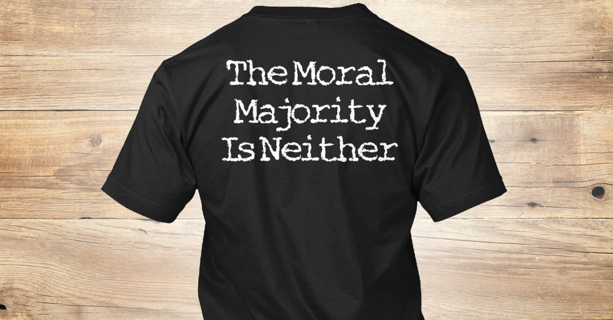 the moral majority Besides monotheism, code of law, philosophy, mathematics, literacy, chemistry, physics, modern medicine, sanitation, electricity, transportation, nuclear power, electronics, computers, and space travel what has western civilization's moral majority ever done for the world.