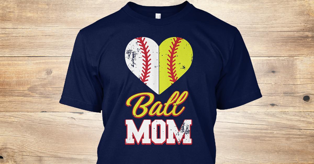 5d2f579df Funny Softball Mom Ball Mom - Ball MOM Products from Softball Mom Shirt |  Teespring