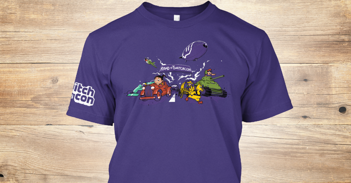 Twitch Shirt Designing