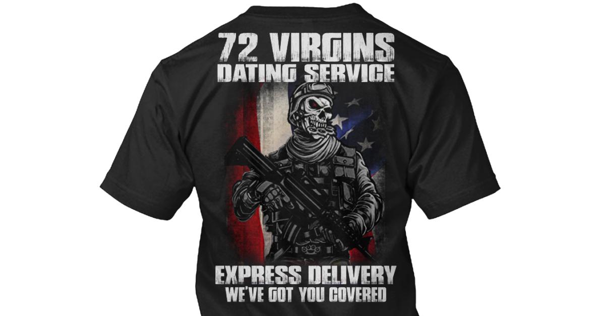 72 Virgins dating service skjorta 1. meddelande på dejtingsajt
