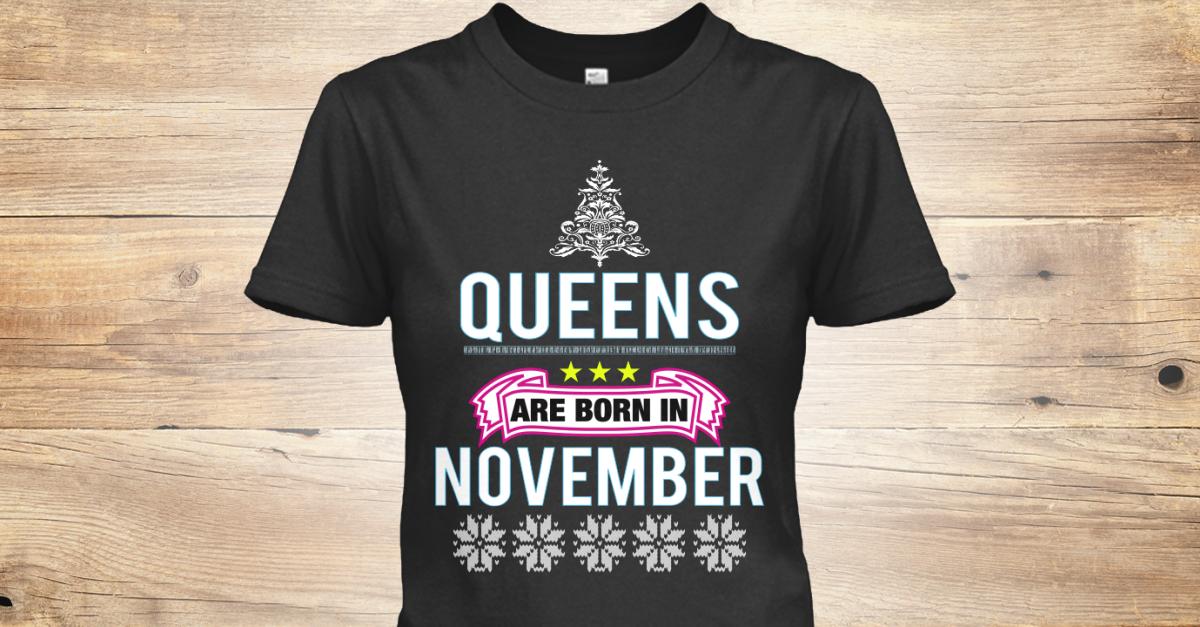 Womens Birthday Party November T Shirts