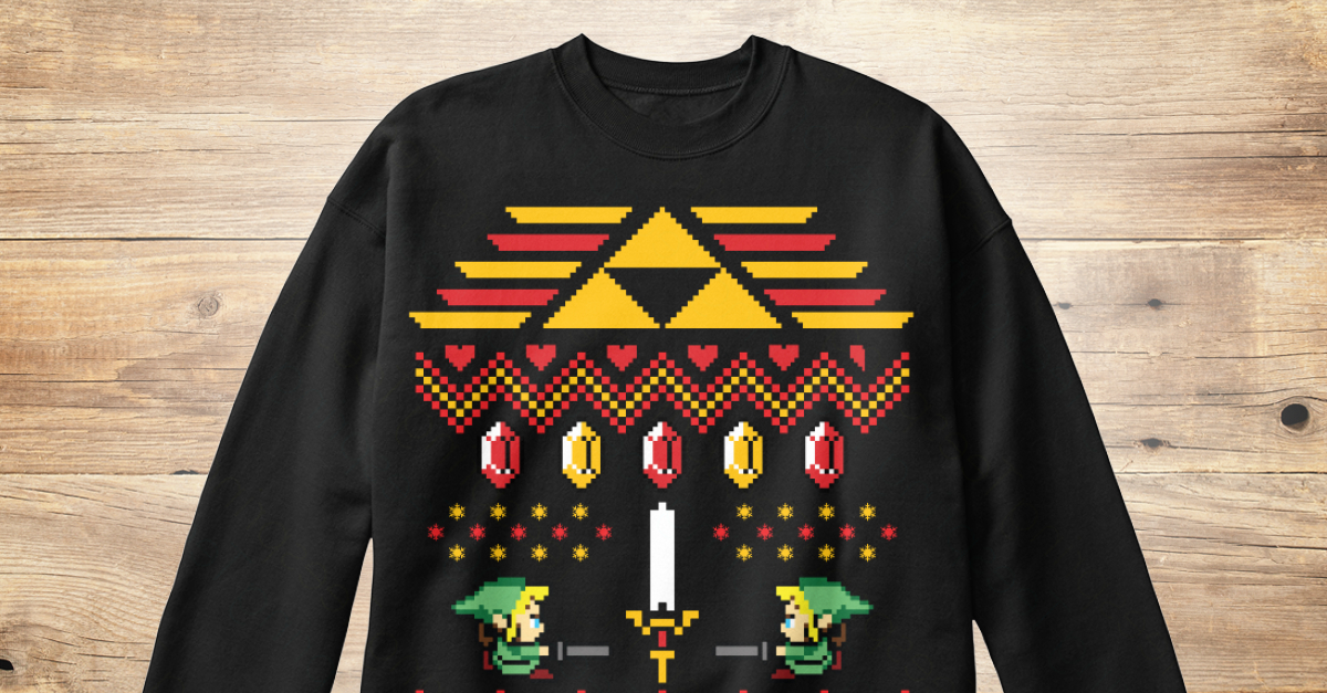 Legend Of Zelda Christmas Sweater Products from Christmas Sweaters ...
