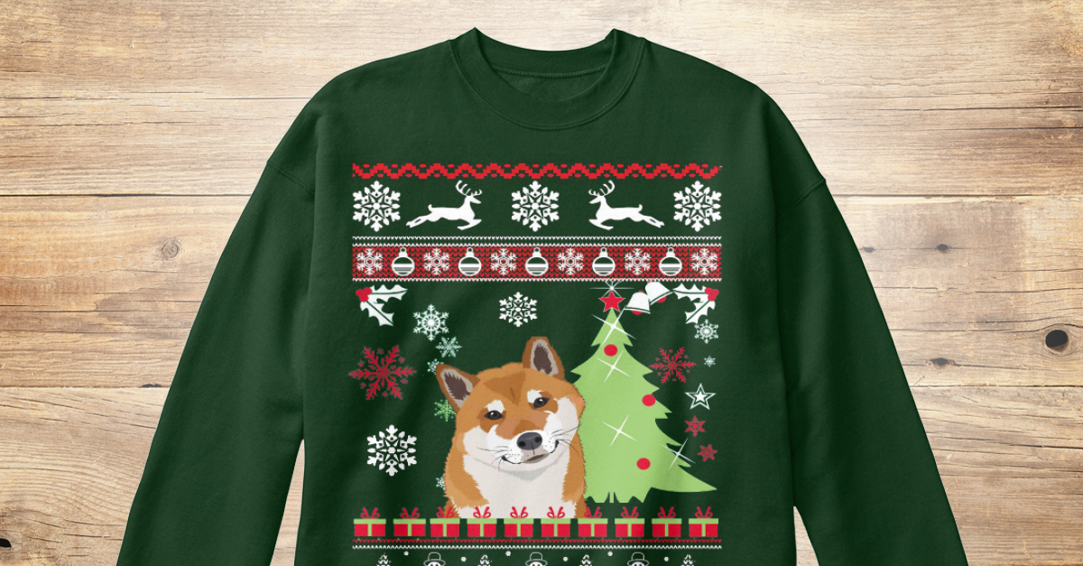 Shiba Inu Ugly Christmas Sweater Products | Teespring