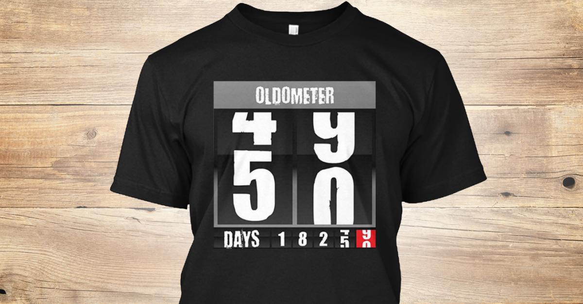 Oldometer 50 Year Old Birthday