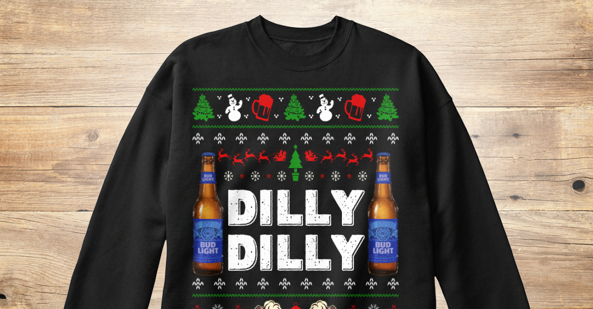 3a200c34d Dilly Dilly Beer Ugly Christmas Sweater - DILLY DILLY Products from Happy  Nappy Store | Teespring