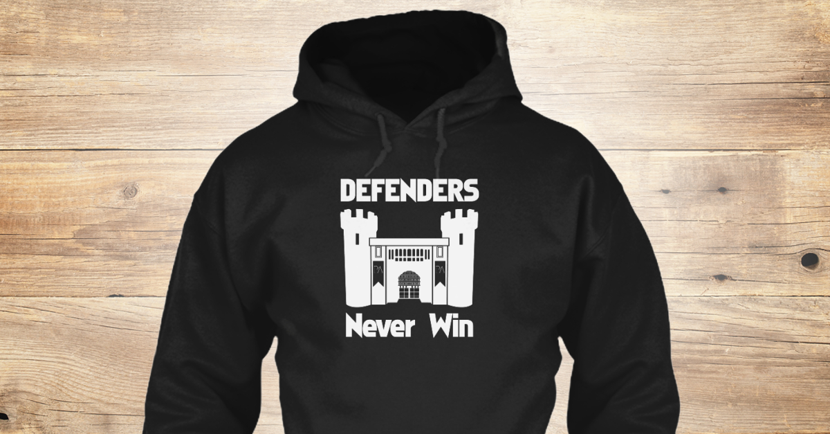 Defenders Never Win