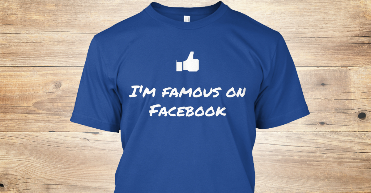 Are you famous (on Facebook)?
