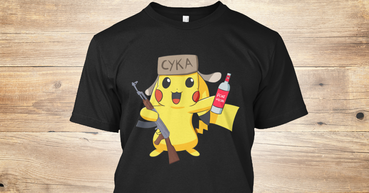 fffce34cb Cykachu - CYKA Products from The Russian Shop | Teespring
