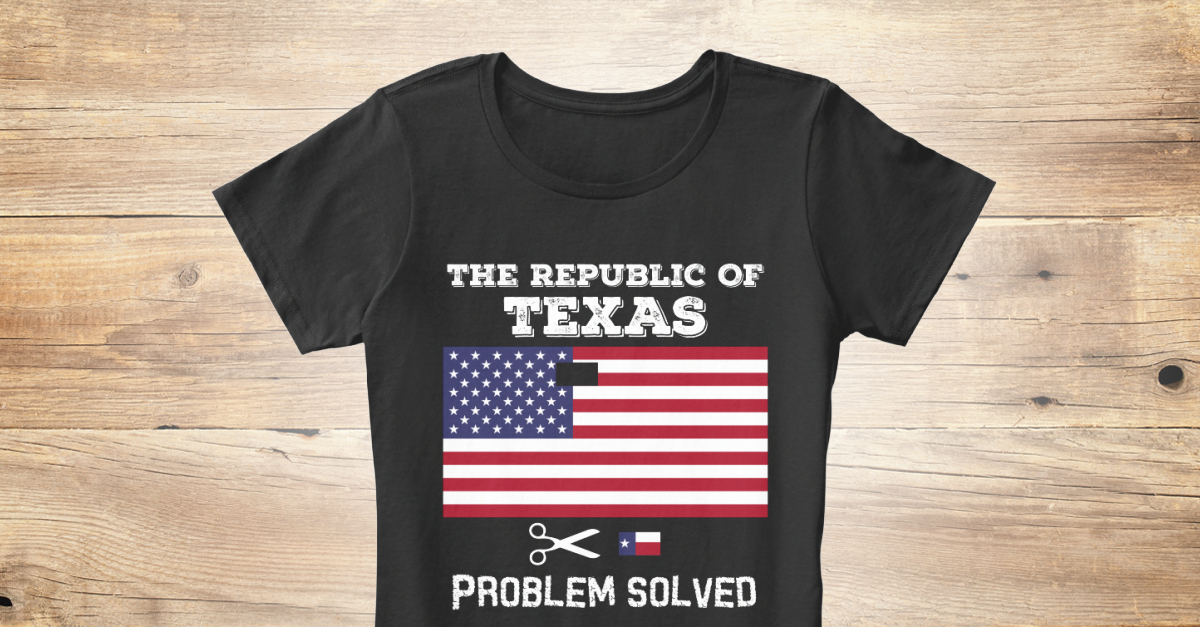 70a65abf Republic of Texas T-Shirt for Women