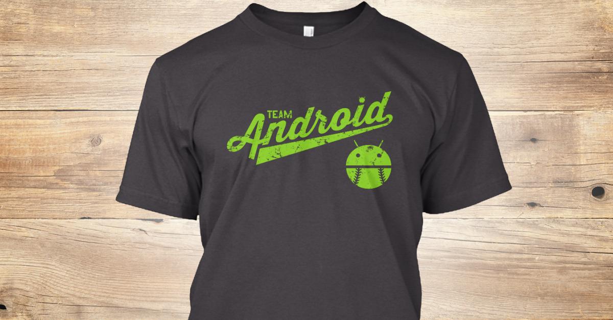e051e4b5f Team Android T Shirts And Apparel - team android Products from Android  Central T-Shirts | Teespring