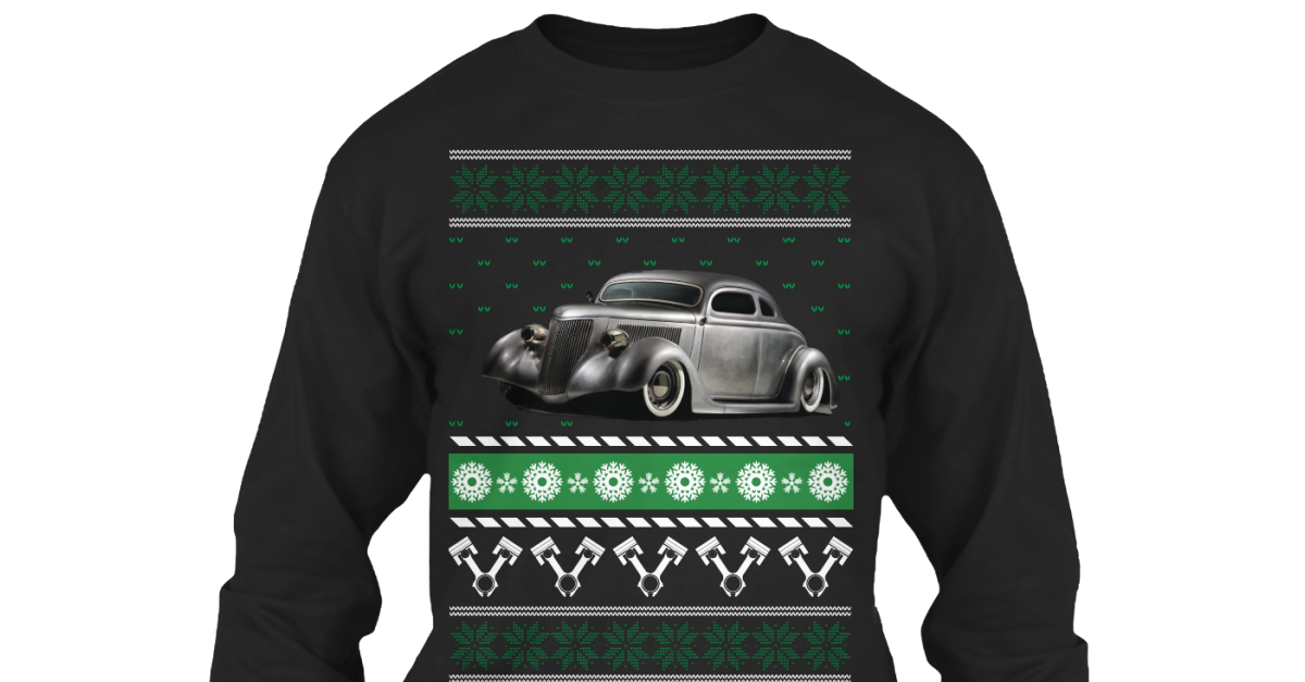 Hot Rod Ugly Christmas Products from Car Ugly Christmas Sweater ...