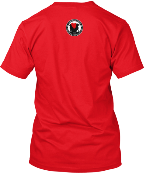 Casa Limited Edition Island Love Shirts Red T-Shirt Back