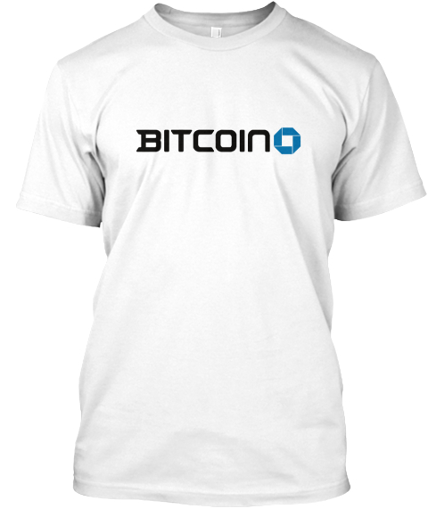 Btc #2 By Cryptograffiti White T-Shirt Front