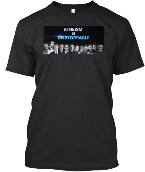 Throw Pillows Vs Lens Flare : Lineup Illustrated With Lens Flare - ATHEISM IS UNSTOPPABLE T-Shirt Teespring