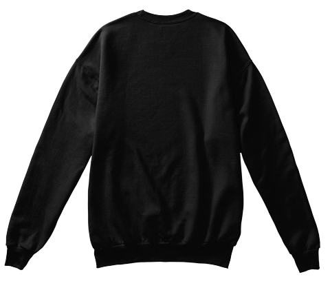 Braaapy New Year Sportbike Black Sweatshirt Back