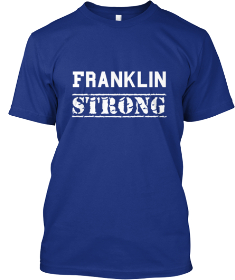 Franklin Strong Deep Royal T-Shirt Front