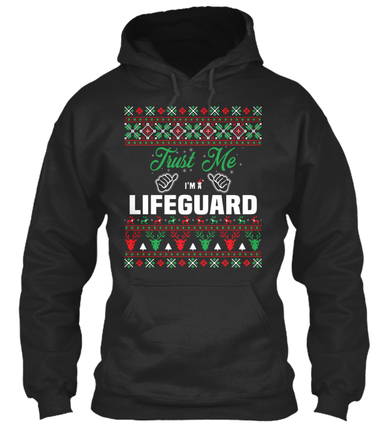 On-trend-Lifeguard-Trust-Me-I-039-m-A-Standard-College-Standard-College-Hoodie