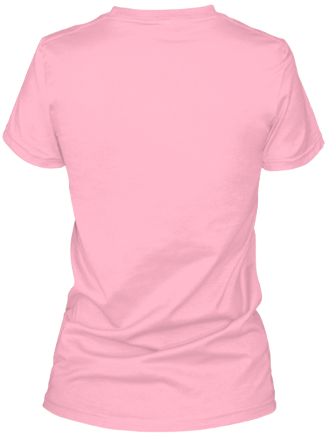 Simply Country Womens Fitted T Shirt Pink T-Shirt Back