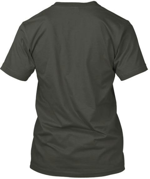 Show Your Author Pride! Smoke Gray T-Shirt Back