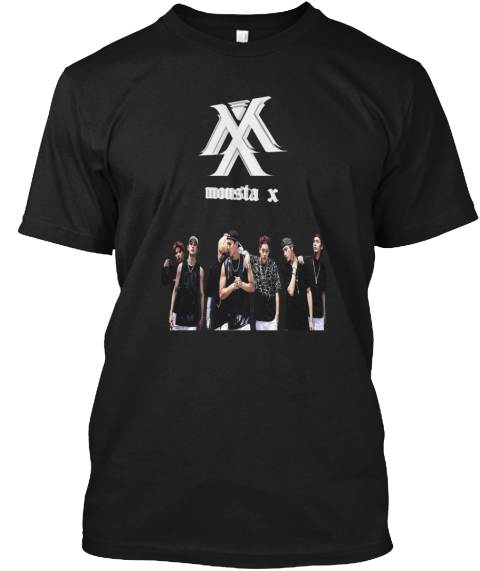 Mx Mousta X Black T-Shirt Front
