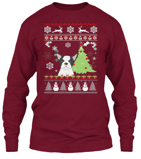 french bulldog christmas sweater french bulldog ugly christmas sweater products teespring 787
