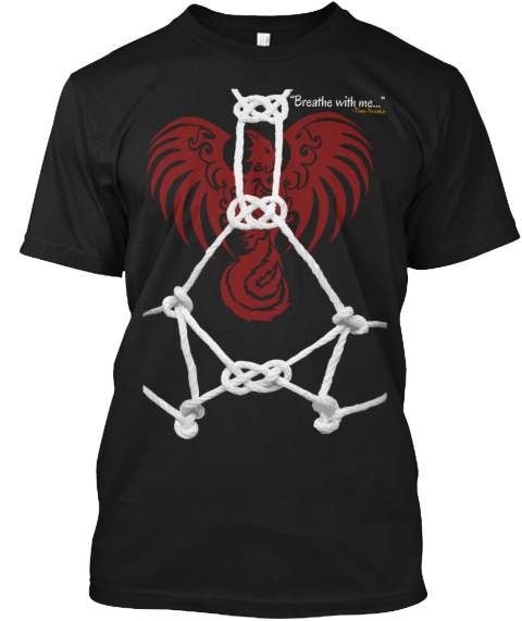 Official Fan Shirt For Red Phoenix Black T-Shirt Front