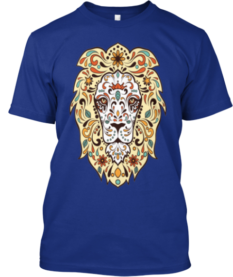 Bring Out The Animal In You! Deep Royal T-Shirt Front