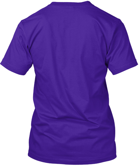 1500 Espn #Mr Mankato Team Purple T-Shirt Back
