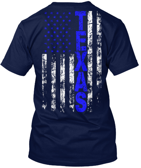 Thin blue line texas style texas t shirt from thin for Texas thin blue line shirt