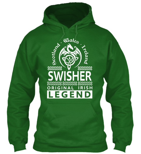 SWISHER Original Irish Legend Name
