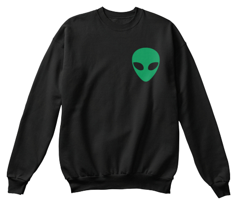 Earth Sucks Black Sweatshirt Front