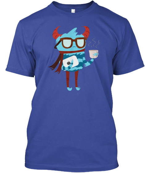 Hipster Monster T-Shirt Front