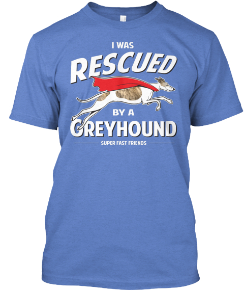 Greyhound T Shirts Rescue Greyhound Rescue White...